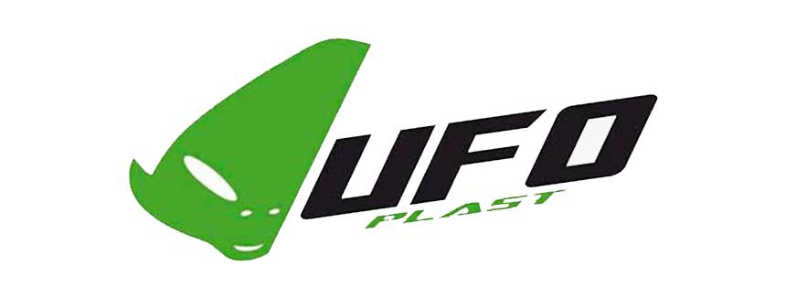 UFO con logo nero Parastinchi e Ginocchia MX per bambini